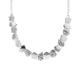 Contemporary Silver Necklace Pentagon Necklace