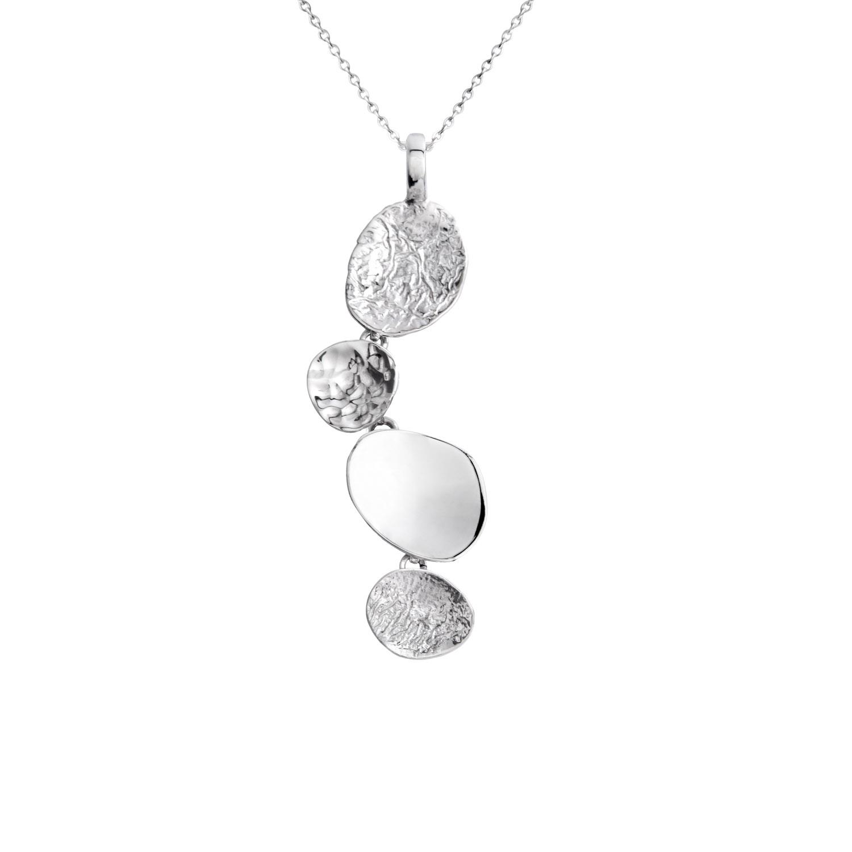 Beautiful Silver Pendant - Stepping Stone