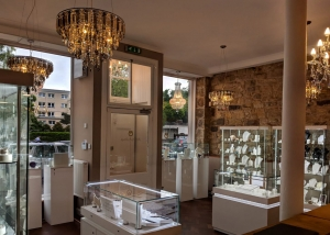 Jewellery by design shop interior Linlithgow
